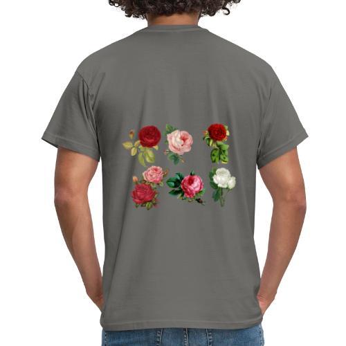 roses - Männer T-Shirt