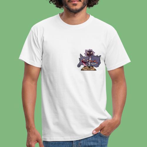 Gastly Haunter y Gengar4 - Camiseta hombre