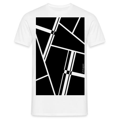 d'shapes black - Maglietta da uomo