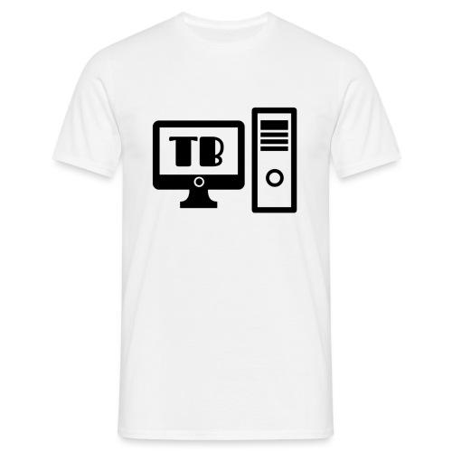 Techbreech Logo - T-shirt herr