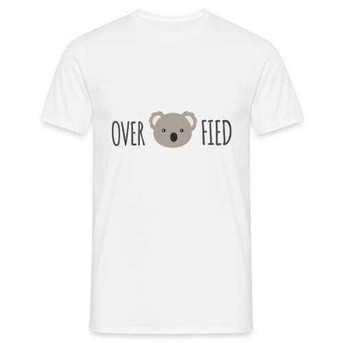Overkoalafied - Mannen T-shirt