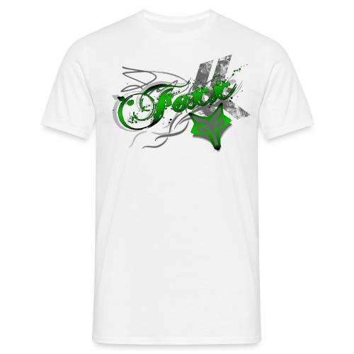 Grunge green Foxx - Men's T-Shirt
