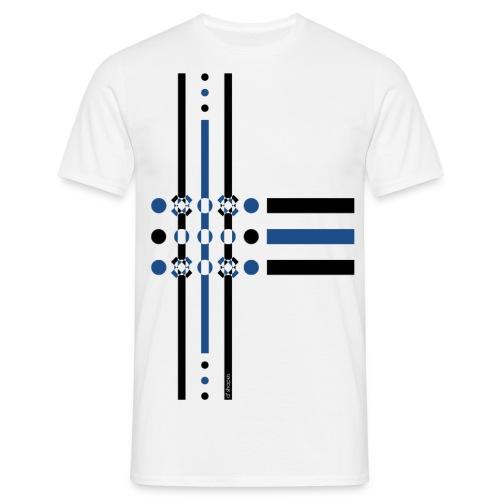 q4 blu - Maglietta da uomo