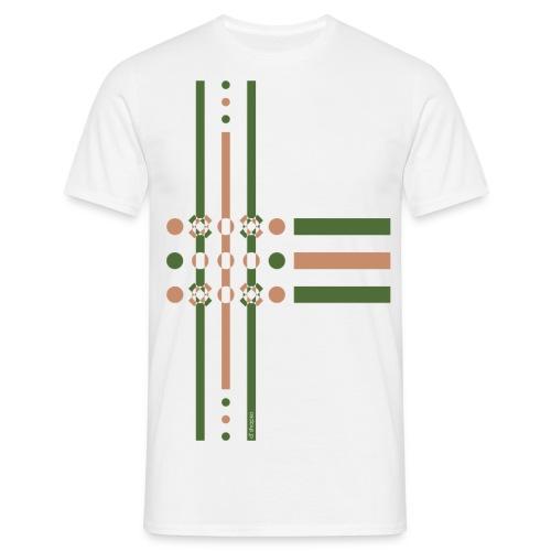 q4 verde - Maglietta da uomo