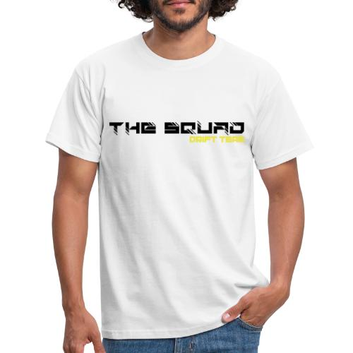 The Squad Logo Sort - Herre-T-shirt