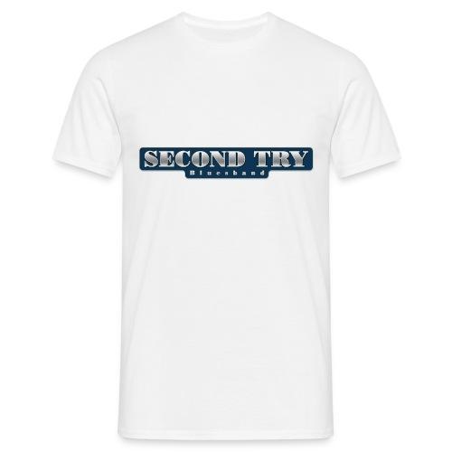 2ndtrylogo - Männer T-Shirt