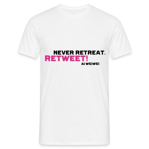 shirt 8 b - Männer T-Shirt