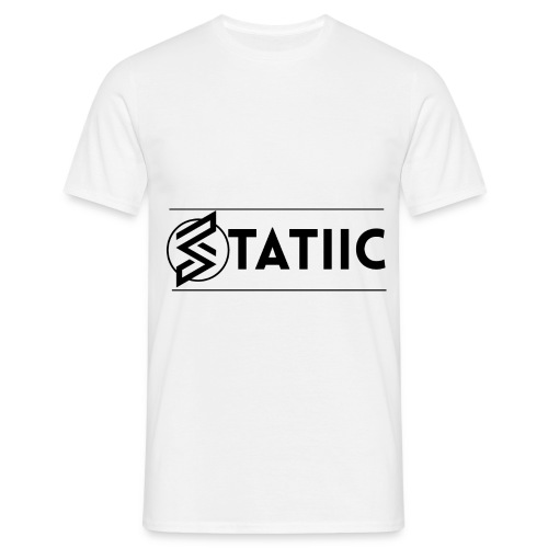 statiic design png - Men's T-Shirt