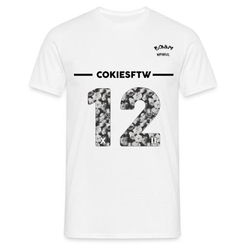 12flower png - Men's T-Shirt