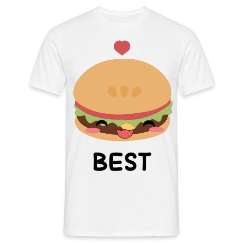hamburger - Maglietta da uomo