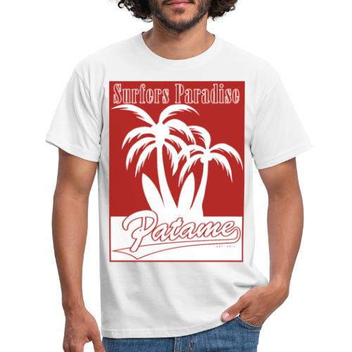 Patame Surfers Paradise Red - Männer T-Shirt