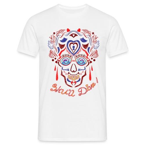 Skull Tattoo Art - Men's T-Shirt