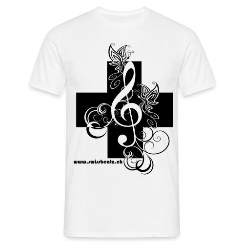 Swiss Beatz Logo non L - Männer T-Shirt