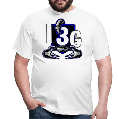 LOGO BLEU I3G - T-shirt Homme