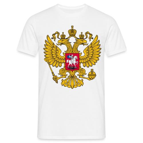 Russland-Wappen / Герб Российской Федерации - Männer T-Shirt