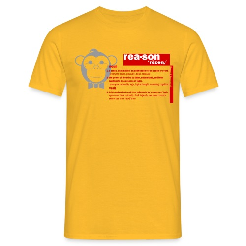 Smart Apparel PROMOTE REASON - Men's T-Shirt