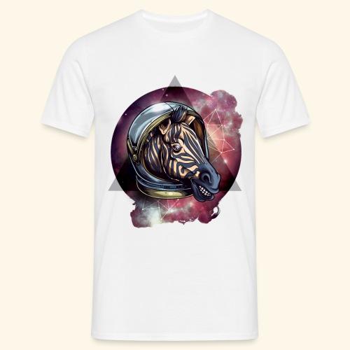 Space Zebra - Männer T-Shirt