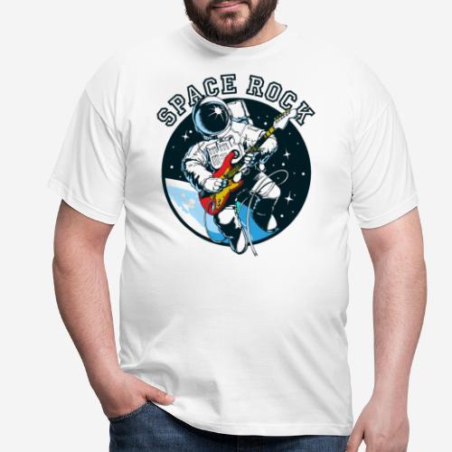 Weltraum-Astronautengestein - Männer T-Shirt