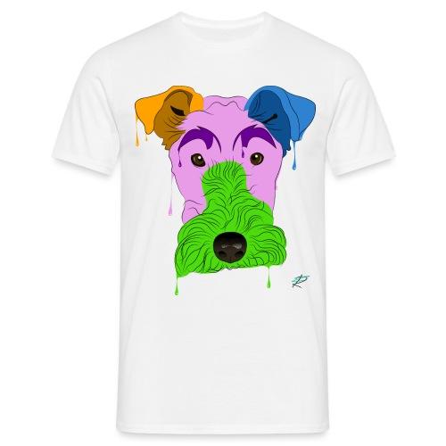 Fox Terrier - Maglietta da uomo