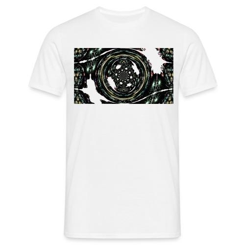 Fractal Eye - Männer T-Shirt