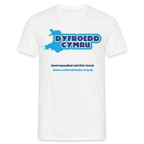Logo_welsh_tshirt - Men's T-Shirt