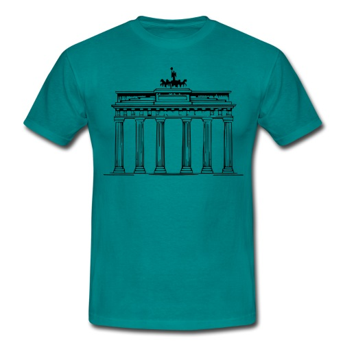 Brandenburger Tor Berlin Victoria Streitwagen - Männer T-Shirt