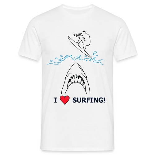 I love Surfing! - Männer T-Shirt