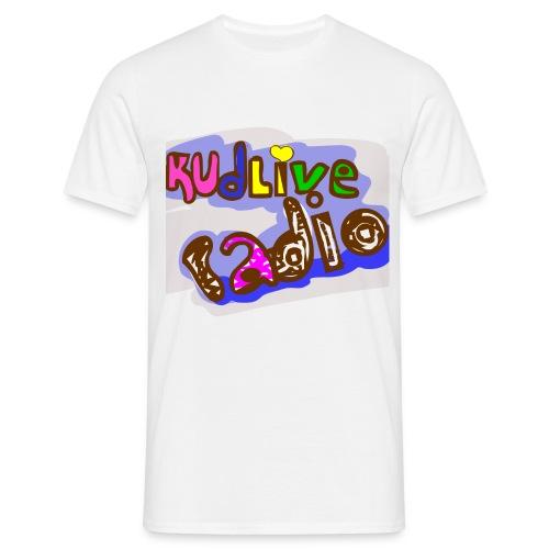 kud live radio - Mannen T-shirt