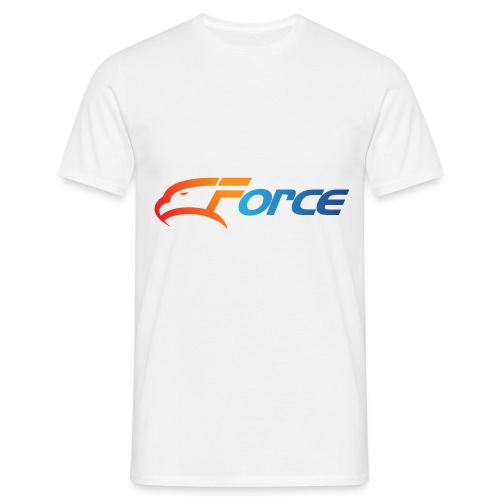 Force Orange/Blue - T-shirt herr
