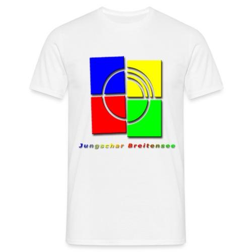 junschar logo bunt t - Männer T-Shirt