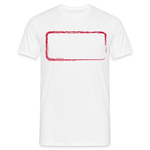 backrahmen28 - Männer T-Shirt