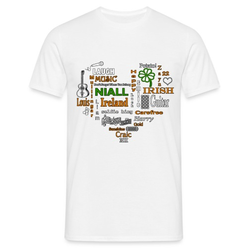 NiallWordcloudFinal png - Men's T-Shirt