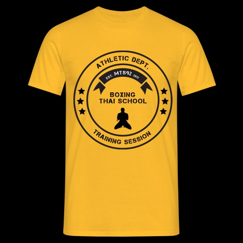MTS92 BOXING THAI SCHOOL ROND - T-shirt Homme
