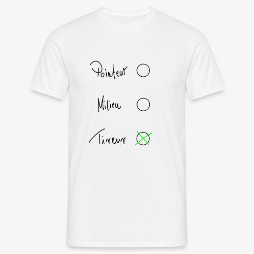 Tireur - Männer T-Shirt