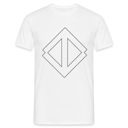 Big White Logo - T-shirt herr