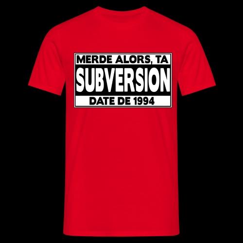 PARENTAL ADVISORY 2011 - T-shirt Homme