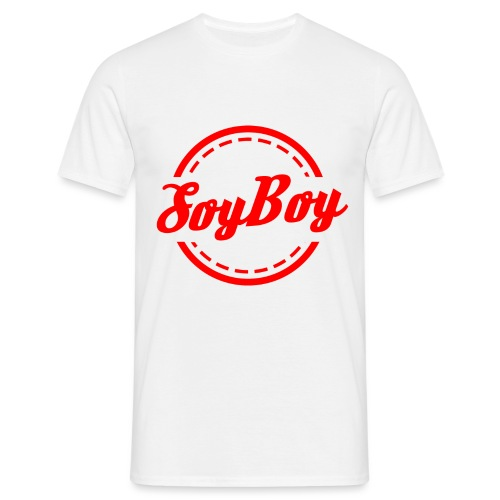 For Us Soy Boys Red - Men's T-Shirt
