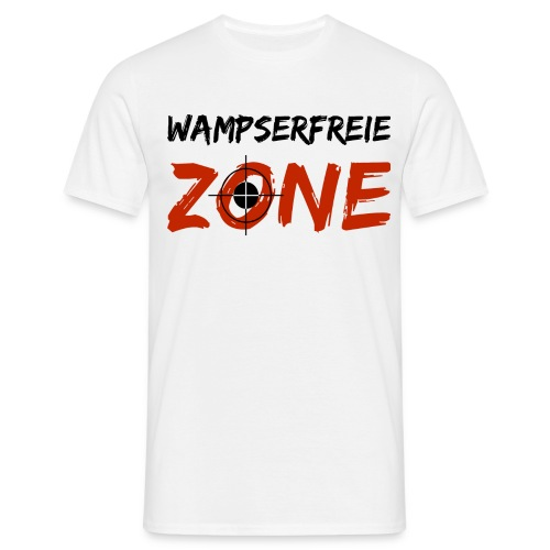 wampserfreiezone - Männer T-Shirt