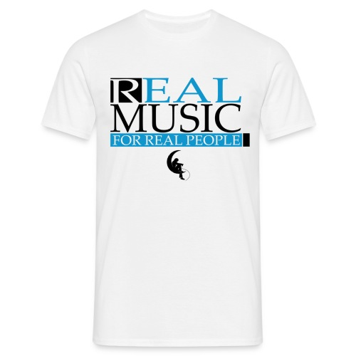 Real Music for Real People - T-shirt Homme