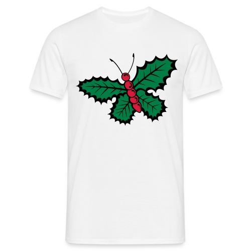 Papillon de noël - T-shirt Homme