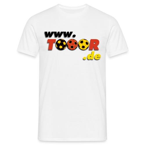 tooor logo - Männer T-Shirt