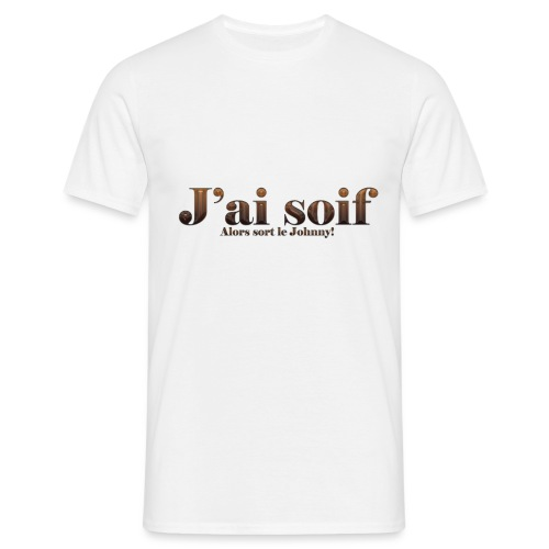 J'ai soif Johnny Walker - T-shirt Homme