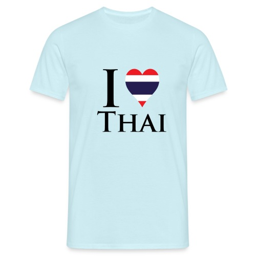 I Love Thai W png - Men's T-Shirt
