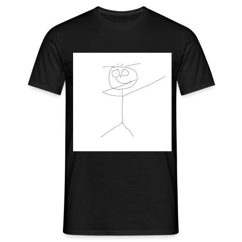 DAB STICKMAN JPG - Männer T-Shirt