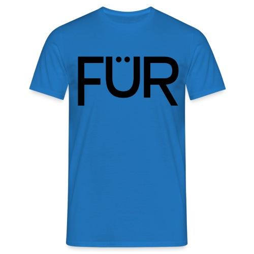 fuer shirt black 01 - Men's T-Shirt