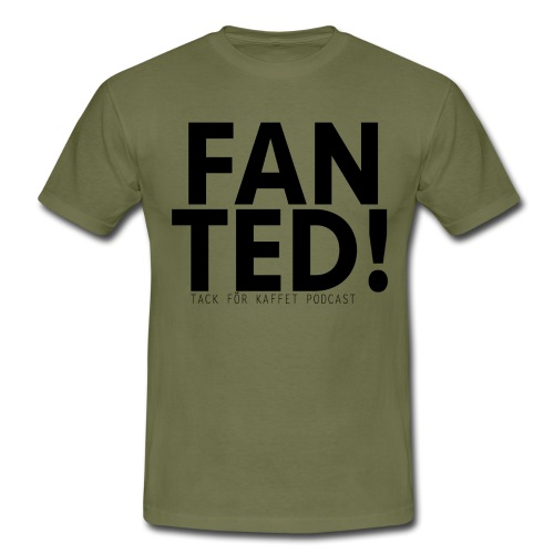 FAN TED - T-shirt herr