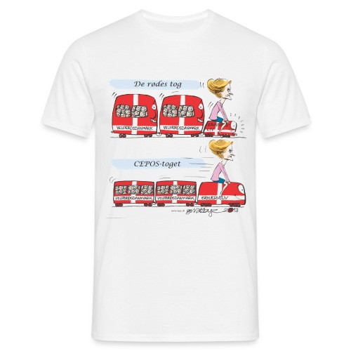 Helle rider erhvervstog - Herre-T-shirt