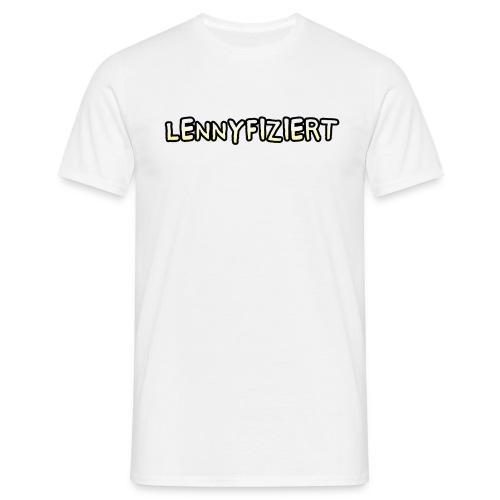 lennyfiziert png - Männer T-Shirt