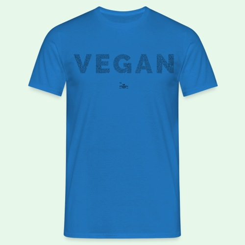 Vegan - Black - T-shirt herr
