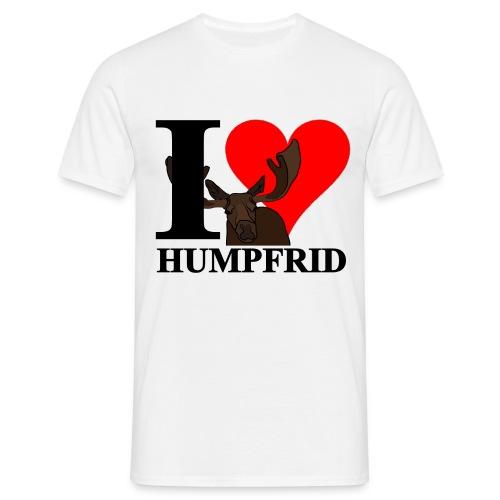 i love humpfrid 3 png - T-shirt herr